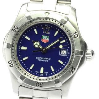 タグホイヤー(TAG Heuer)のタグホイヤー プロフェッショナル200m レディース 【中古】(腕時計)