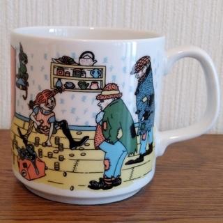ロールストランド(Rorstrand)のロールストランド Rorstrand 長くつ下のピッピ マグカップ(食器)