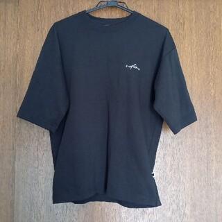 AAA 西島隆弘 naptime ロゴTシャツ Mサイズ ブラック