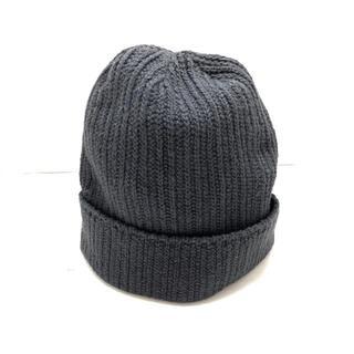 ロンハーマン(Ron Herman)のロンハーマン ニット帽 - ダークグレー(ニット帽/ビーニー)
