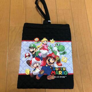ニンテンドウ(任天堂)の新品 マリオシューズ袋(シューズバッグ)