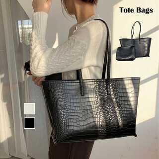 トートバッグ レディース ハンドバッグ ポーチ付き 肩掛け 鞄 カバン 大容量鞄