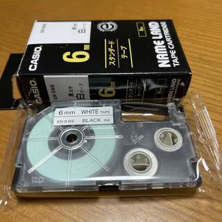 カシオ(CASIO)のネームランド テープ(6ミリ)(テープ/マスキングテープ)