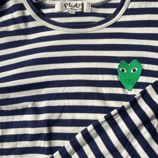コムデギャルソン(COMME des GARCONS)のコムデギャルソン ボーダー ロンT(Tシャツ(長袖/七分))