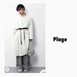 プラージュ(Plage)のPlage プラージュ ヴィンテージ裏毛コート(ロングコート)