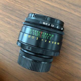 Canon - マウントアダプター付ぐるぐるボケ Helios-44-2 M42 2/58