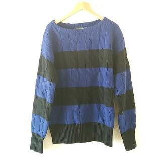 ラルフローレン(Ralph Lauren)の美品ラルフローレンMラグビー ざっくり ウールローゲージニット セーター (ニット/セーター)