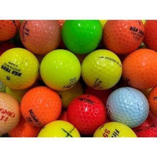 ■17・ロストボール ブランド色々 カラーボール 100球 B