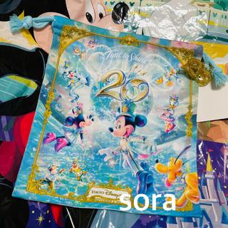 Disney - ディズニーシー 20周年 タイムトゥシャイン 巾着 きんちゃく