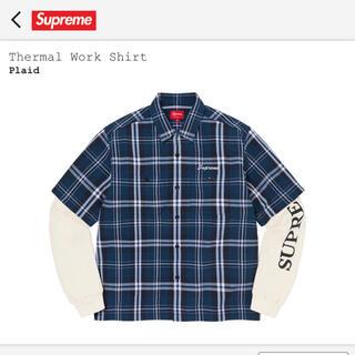 Supreme - Supreme 21FW Thermal Work Shirt plaid M