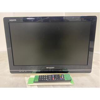 アクオス(AQUOS)の都内近郊送料無料 SHARP AQUOS  2011年製  19インチ  格安(テレビ)