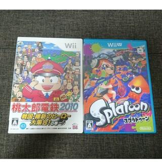 Wii U - Wii 桃太郎電鉄  Wii U スプラトゥーン