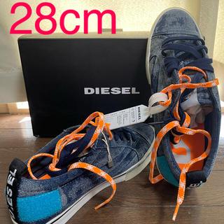 ディーゼル(DIESEL)の新品 28cm  43   ディーゼル ロゴ スニーカー(スニーカー)