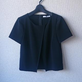 フォクシー(FOXEY)の☆FOXEY☆38☆ layered top (カットソー(半袖/袖なし))