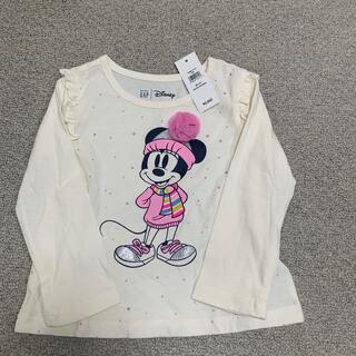 ベビーギャップ(babyGAP)のbaby gap ミニーちゃんロンT 90cm(Tシャツ/カットソー)