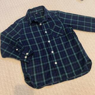 ムジルシリョウヒン(MUJI (無印良品))の無印 チェックシャツ 120(ジャケット/上着)