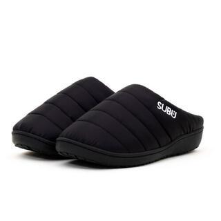 SUBU 21年モデル 冬用サンダル 新品 未使用 正規品 ブラック サイズ2