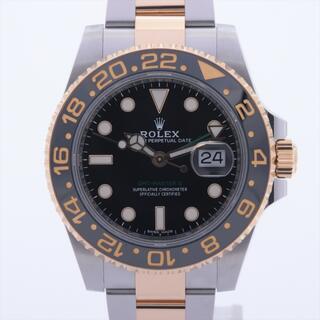 ROLEX - ロレックス GMTマスター Ⅱ SS×YG   メンズ 腕時計