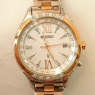 SEIKO - 本日限定価格 SEIKO ルキア 腕時計 ダイヤ ssvv014
