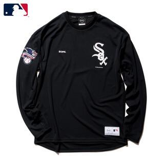 F.C.R.B. - XL FCRB 21AW MLB TOUR L/S PRE MATCH TOP