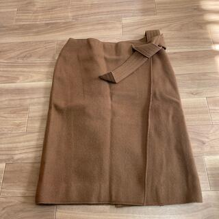 ミラオーウェン(Mila Owen)のミラオーウェン 巻きスカート(ひざ丈スカート)