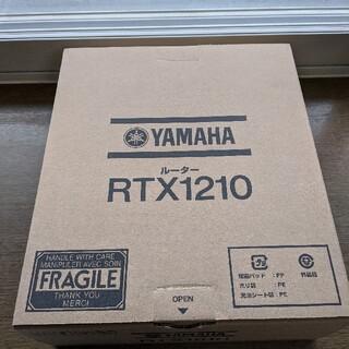 ヤマハ - 新品 YAMAHAギガアクセスルーターRTX1210