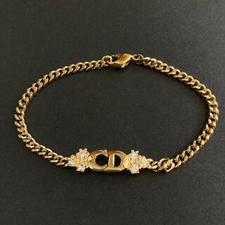 クリスチャンディオール(Christian Dior)のクリスチャンディオール CDロゴ ブレスレット(ブレスレット/バングル)
