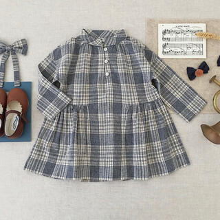 soor ploom Gilda Dress, Vintage Plaid 2y