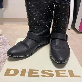ディーゼル(DIESEL)のdiesel ショートブーツ(ブーツ)