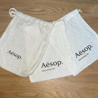 イソップ(Aesop)のAesop 巾着 ショッピングバック(ショップ袋)