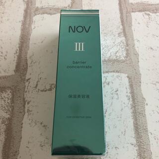 ノブ(NOV)のNOVⅢ バリアコンセントレイト リニューアル品(美容液)