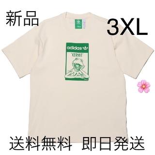 adidas - 新品未使用 3XLサイズ アディダス カーミット 半袖 Tシャツ ホワイト