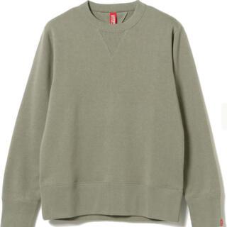 ビームス(BEAMS)の美品LOOPWHEELER × BEAMS JAPAN別注 スウェットシャツ(スウェット)