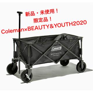 Coleman - 新品)アウトドアワゴン Coleman×BEAUTY&YOUTH2020