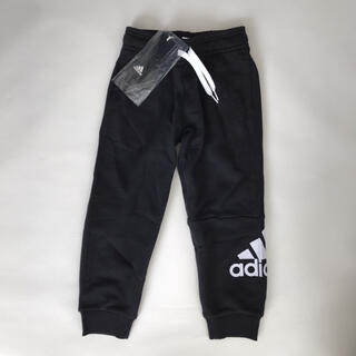 adidas - 110㎝ アディダス スウェットパンツ ジャージ 黒
