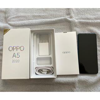 OPPO - 【美品】OPPO A5 2020 グリーン 4GB/64GB