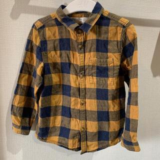 ザラキッズ(ZARA KIDS)のZARA baby チェックシャツ(ブラウス)