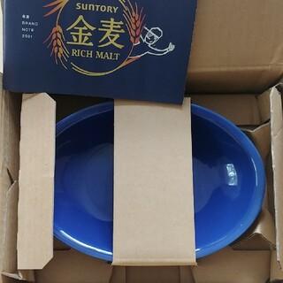 タチキチ(たち吉)の金麦 あいあいカレー皿 ブルー 青(食器)