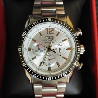 【テクノス クロノグラフ 腕時計 T1019TS 】電池切れジャンク