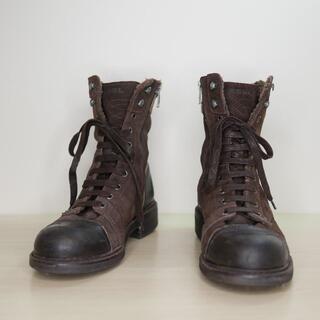 ディーゼル(DIESEL)のDIESEL ディーゼル 42 ブラウン スウェード メンズ ブーツ(ブーツ)