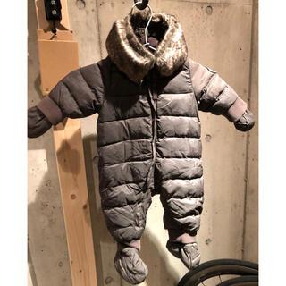 プチバトー(PETIT BATEAU)のプチバトー ダウン ジャンプスーツ(ジャケット/コート)