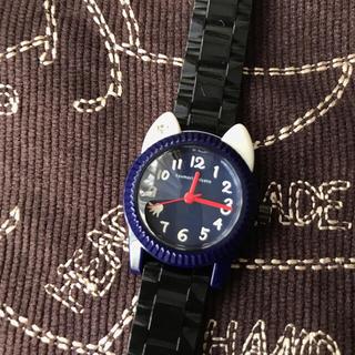 ツモリチサト(TSUMORI CHISATO)のツモリチサトウオッチ❤︎ ブラック×ネイビー(腕時計)