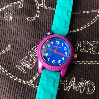 ツモリチサト(TSUMORI CHISATO)のツモリチサトウオッチ❤︎グリーン×パープル(腕時計)