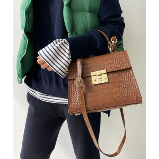 L'Appartement DEUXIEME CLASSE - 新品 【AULENTTI/オウレンティ】Shoulder Bag キャメル