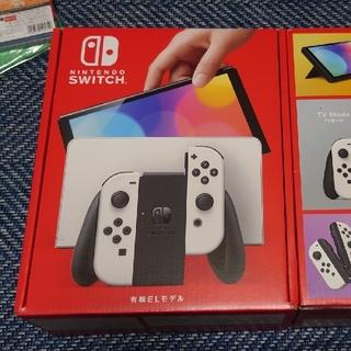 Nintendo Switch - 【新品未使用】Nintendo Switch 本体 (有機ELモデル) ホワイト