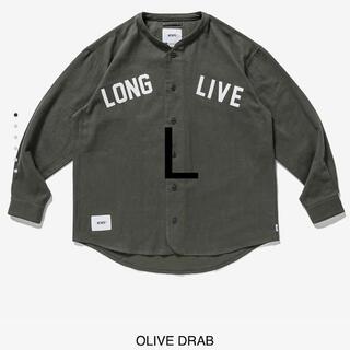 W)taps - wtaps league ls cotton flannel l