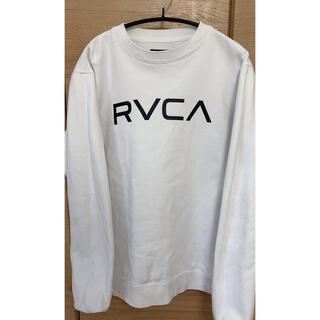 rvca トレーナー ホワイトS