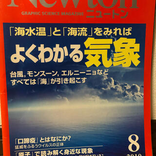 Newton 2010.8(専門誌)