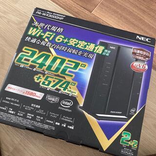 NEC - NEC 無線LANルーター PA-WX3000HP