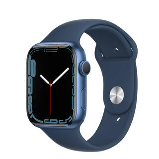 Apple Watch - Apple Watch Series 7 GPSモデル 45mm アビスブルー
